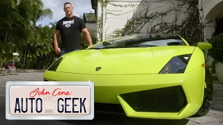 John Cena's LamborGREENi is a timeless masterpiece - John Cena: Auto Geek