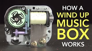 getlinkyoutube.com-How a Wind Up Music Box Works