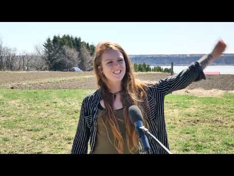 Rachel Bergeron remporte le concours Sur les traces de Louis-Hébert