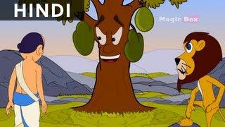 getlinkyoutube.com-Caged Lion - Hitopadesha Tales In Hindi - Animation/Cartoon Stories For Kids