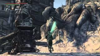 getlinkyoutube.com-フル強化の月光の聖剣のモーションと試し斬り  ブラッドボーン オールドハンターズ  DLC【Bloodborne: The Old Hunters】