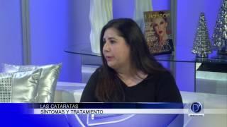 La oftalmóloga Giselle Martin explica los síntomas y los tratamientos de las cataratas