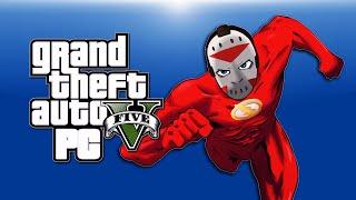 getlinkyoutube.com-GTA 5 PC Funny Moments - Flash Mod, Aliens, Zombies, Clowns, Gravity Gun, Telekinesis!)