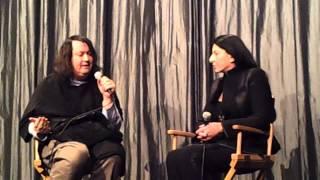 getlinkyoutube.com-ANTONY HEGARTY & MARINA ABRAMOVIC @ IFC (11/20/2012)