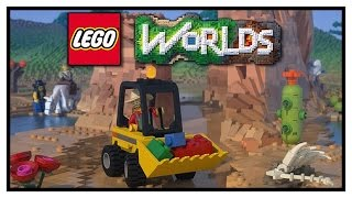 getlinkyoutube.com-NEW LEGO MINECRAFT GAME? - Lego Worlds Gameplay