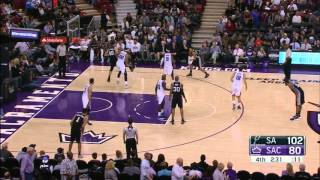 getlinkyoutube.com-2015-11-09 NBA RS Boban Marjanovic vs Sacramento [Great Dunk]