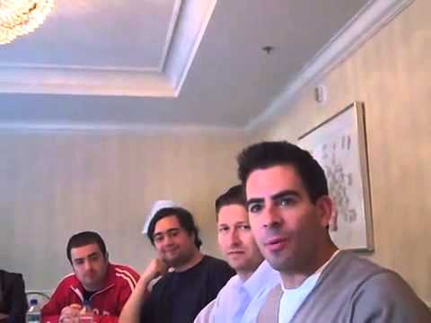 Eli Roth on the Bear Jew role