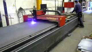 getlinkyoutube.com-Esprit D1500 CNC HD HyDefinition Plasma Cutting System For Sale at Westermans
