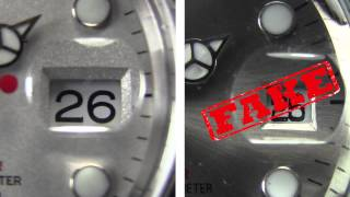 getlinkyoutube.com-Rolex® Watches: Differences between Real and Fake