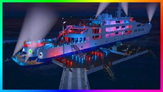 getlinkyoutube.com-GTA 5 DLC Leaks Purchasable Yachts - Custom Super Yachts, Helipads, Luxury Interiors & MORE! (GTA 5)
