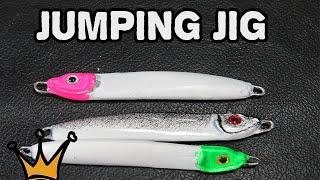 Como fazer Isca Artificial Caseira - Jumping Jig