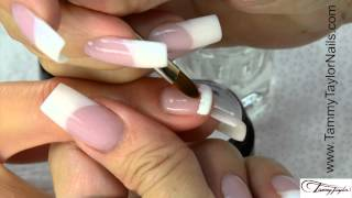 getlinkyoutube.com-♡ Tammy Taylor 12 Step Gel French Manicure and Fill