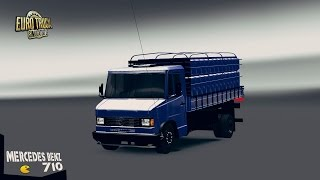 getlinkyoutube.com-Euro Truck Simulator 2 - Mercedes Benz 710
