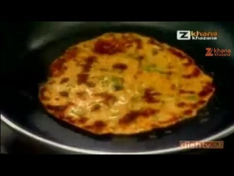 Quick Chef Dec. 23 '10 - Spinach & Cabbage Paratha