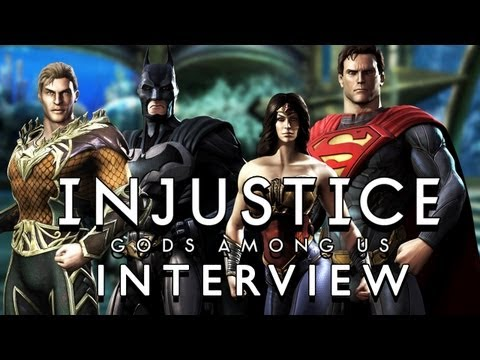 INJUSTICE: Gods Among Us Interview! New gameplay details on NetherRealm's DC Universe Fighting Game