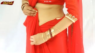 getlinkyoutube.com-How To Wear Indian Bollywood Saree:Bridal Collection Sari Drape Step By Step