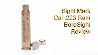 getlinkyoutube.com-Sightmark  223 Remington Laser Boresight Review