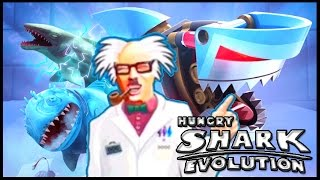 getlinkyoutube.com-SPECIAL SHARKS - BEST SHARKS! - Hungry Shark Evolution All Sharks - ALL EVOLUTION SHARKS GAMEPLAY!