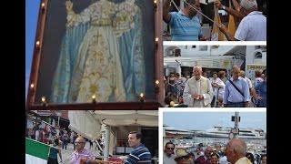 Capri: L'esposizione del Quadro della Madonna della Libera al largo Fontana di Marina Grande (Video)
