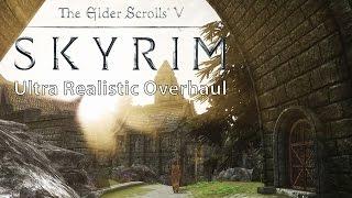 getlinkyoutube.com-Skyrim – Ultra Realistic Overhaul Mod Collection vs. Vanilla Comparison [WQHD]