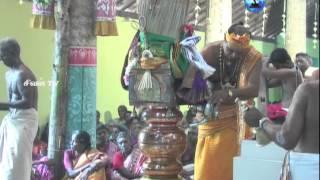 இணுவில் காரைக்கால் சிவன் கோவில் அம்மன் வாசல் கொடியேற்றம்(11.01.2015)