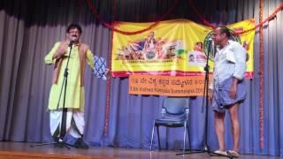 Comedy by Naveen D Padil & Mandya Ramesh