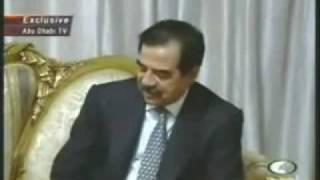 getlinkyoutube.com-الرئيس صدام حسين ورفيق دربه عزة إبراهيم في أجتماع مع القيادة