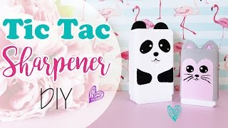 getlinkyoutube.com-Tic Tac Sharpener - Tempera matite dalle Tic Tac
