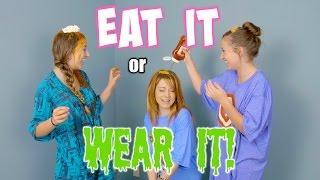 getlinkyoutube.com-Eat It or WEAR IT Challenge  {ft. Lindsey Stirling}