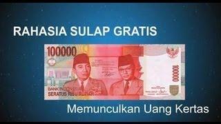 getlinkyoutube.com-Trik Sulap Gratis - Memunculkan Uang Kertas