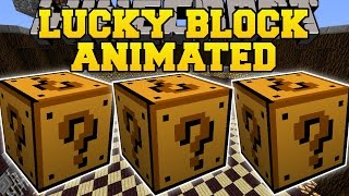 getlinkyoutube.com-Minecraft: ANIMATED LUCKY BLOCK MOD (MOST EPIC BLOCKS YET?!?) Mod Showcase