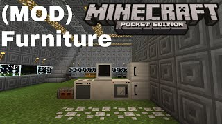 getlinkyoutube.com-(MOD) Furniture - Minecraft PE v0.13.0 (Pocket Edition)
