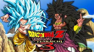 getlinkyoutube.com-SSGSS4 Goku VS SSJ8 Broly | Dragon Ball Z: Budokai Tenkaichi 3 MODS (Duels)