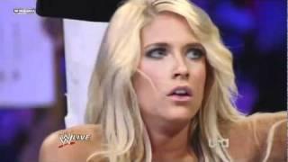 getlinkyoutube.com-Kelly Kelly vs Maryse (Kharma Attacks)