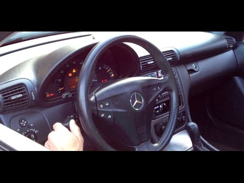 How to Replace Combination Switch 2004 Mercedes (W203)