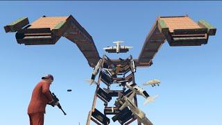 getlinkyoutube.com-ULTIMATE AVALANCHE DEATH MACHINE! (GTA 5 Online)