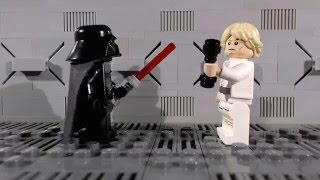 getlinkyoutube.com-Lego Star Wars: The Force (Awakens) from Within (Stop-motion animation / brickfilm) comedy film