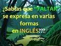 """Inglés Americano - El Verbo """"Faltar"""" (Lección 156)"""