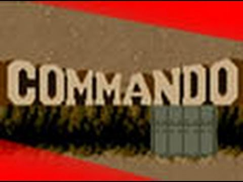 Classic Game Room - COMMANDO for Nintendo Wii review