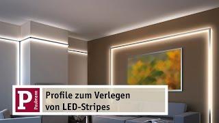 getlinkyoutube.com-Indirektes LED-Licht: YourLED Strip und Duo- und Delta-Profile