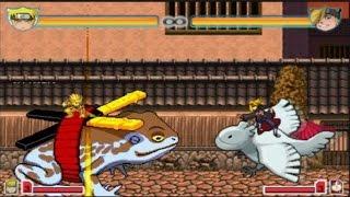 getlinkyoutube.com-Naruto (Sage Mode) vs Team Akatsuki (Deidara, Konan, Itachi and Pain) | Bleach vs Naruto 2.5