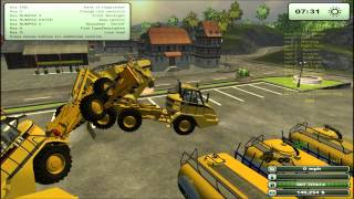 getlinkyoutube.com-Farming simulator 2013 mod spotlight CAT 725 Articulated Pack v 1.5