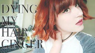 getlinkyoutube.com-Bleaching & Dying My Hair Ginger - Cruelty Free