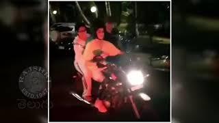 Jhanvi Kapoor's LAST BIKE RIDE With Sridevi | Sridevi Jhanvi Kapoor SAD VIDEO
