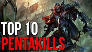 getlinkyoutube.com-Top 10 1v5 Pentakills 2015 (League of Legends)