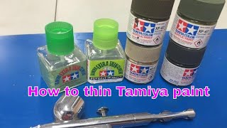 getlinkyoutube.com-Thinning and using Tamiya paint and cement, This video will save you time and trouble.