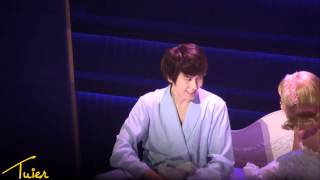 getlinkyoutube.com-[HD fancam] 120529 Catch Me If You Can - Frank Kyuhyun & Brenda Bed Scene Cut