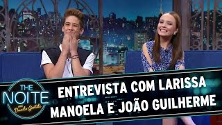 getlinkyoutube.com-The Noite (10/03/16) - Entrevista com Larissa Manoela e João Guilherme