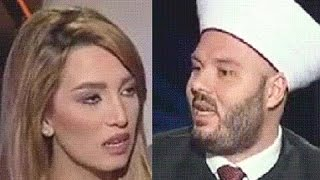 شيخ يحرج مذيعة الميادين السعودية غير مسئولة عن وفاة الحجاج واى دولة لا تستطع فعل ربع ما تفعله للحجاج