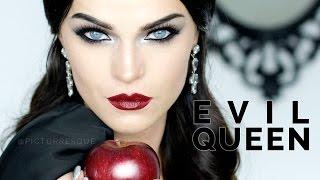 getlinkyoutube.com-E V I L Q U E E N - Make-up Look smokey eyes & bold lips